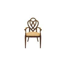 Heart & Diamond Arm Chair