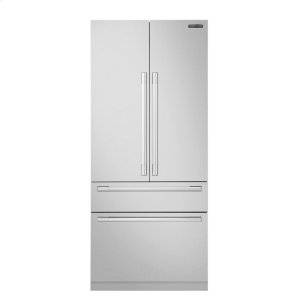 Signature Kitchen Suite36-inch Built-in French Door Refrigerator