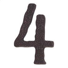 Jagged Hammered #4 - Aged Bronze