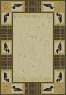 Genesis Tartan Loon Natural Rugs