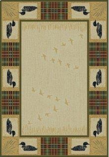 Genesis Tartan Loon Natural Rugs