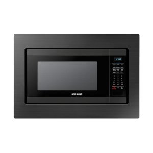 Samsung1.9 cu. ft. Countertop Microwave for Built-In Application in Fingerprint Resistant Black Stainless Steel