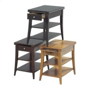 Oak Chair Side Table Product Image
