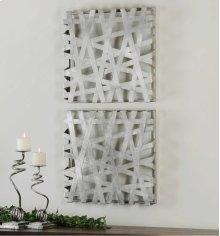 Alita Metal Wall Decor, S/2