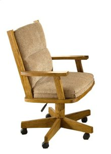 Dining - Classic Oak Tilt Swivel Arm Chair