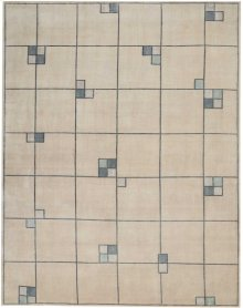 Christopher Guy Wool & Silk Collection Cgs04 Mediterranean Sand Rectangle Rug 9' X 12'