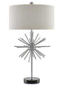 Trendsetter Table Lamp, Chrome - 32h
