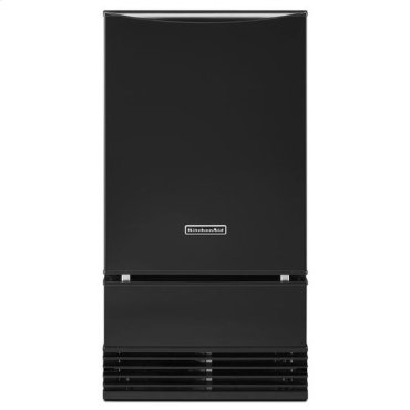 Black KitchenAid® 18'' Automatic Ice Maker