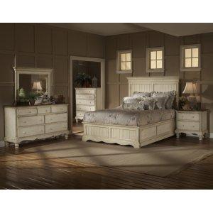 Hillsdale FurnitureWilshire 4pc Queen Panel Storage Bedroom Suite