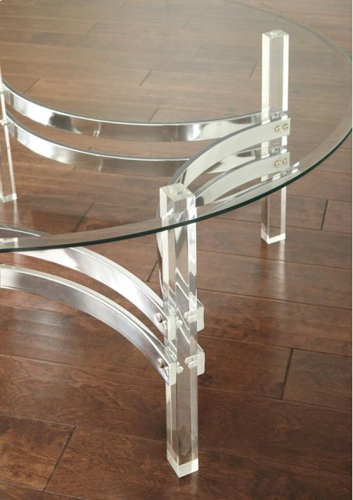 """Clayhill Cocktail Table 40""""x40""""x18"""""""