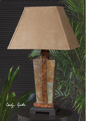 Slate Accent Lamp