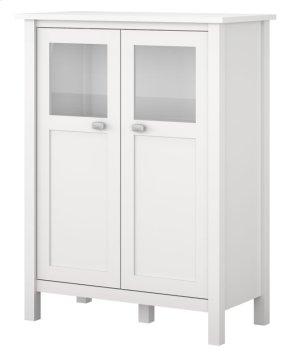 Broadview Bathroom Storage Cabinet - Pure White