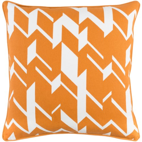 "Inga INGA-7027 18"" x 18"" Pillow Shell with Polyester Insert"