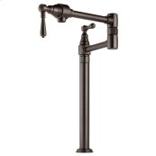 Traditional Deck Mount Pot Filler Faucet