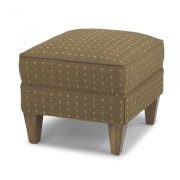 Dancer Fabric Ottoman Product Image