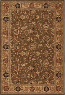 Hard To Find Sizes Grand Parterre Pt01 Khaki Rectangle Rug 6' X 9'