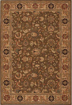 Hard To Find Sizes Grand Parterre Pt01 Khaki Rectangle Rug 11' X 20'