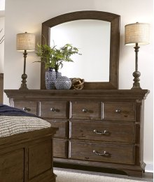 Drawer Dresser - Weathered Tobacco Finish