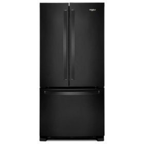 Whirlpool® 33-inch Wide French Door Refrigerator - 22 cu. ft. - Black