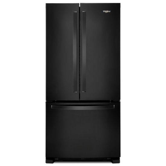 Attractive Whirlpool® 33 Inch Wide French Door Refrigerator   22 Cu. Ft.