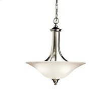 Dover Collection Dover 3 Light Semi Flush/Inverted Pendant NI