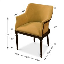 Sue Dining Arm Chair, Old Orange