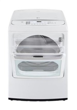 7.3 cu. ft. Ultra Large Capacity High Efficiency Front Control SteamDryer w/ EasyLoad Door