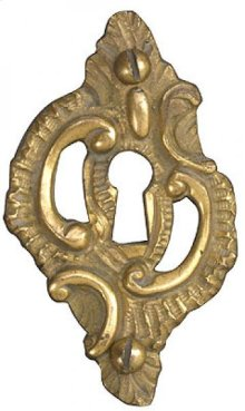 Skeleton Key Rosette Louis XV Style