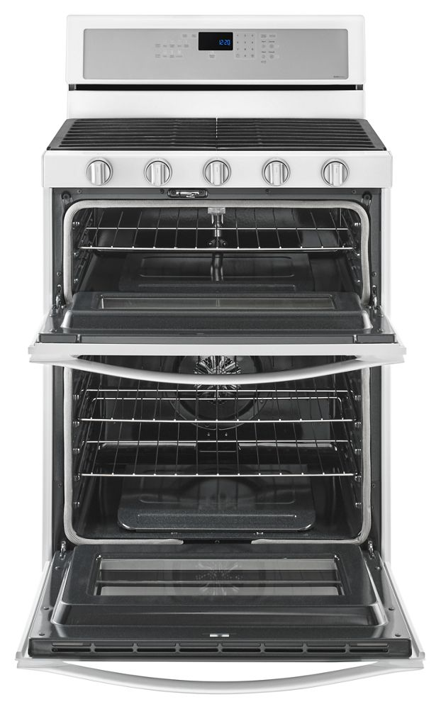Ft Gas Double Oven Range With Ez 2 Lift Hinged Grates