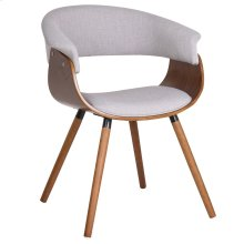 Holt Accent Chair in Grey