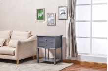 6629 Gray Side Table