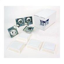 BROAN 2678F Bathroom Fan/Light Finish Pack 50 CFM Model 2678F