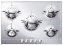 "72CM (approx 28 ) ""Piano Design"" Gas Cooktop, Polished Stainless Steel*"