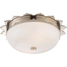 Visual Comfort AH4029PN-WG Alexa Hampton Rachel 2 Light 14 inch Polished Nickel Flush Mount Ceiling Light