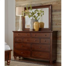 Chesser Mirror (Available in Brown Cherry Finish)