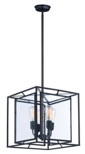 Era 4-Light Pendant W/Bulbs