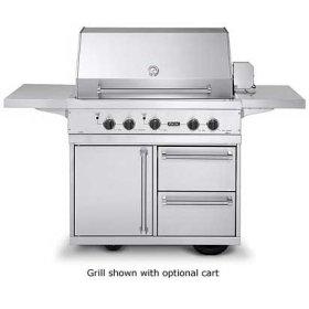 "41"" Ultra-Premium E-Series Grill with TrueSear - VGIQ (41"" wide E-Series with two standard 25,000 BTU stainless steel burners and one 30,000 BTU TruSear infrared burner (LP/Propane))"