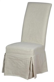 Long Parsons Chair Slip Cover