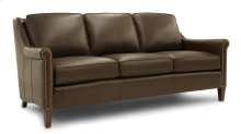 Leather Mid-Size Sofa