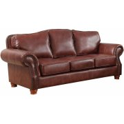 Sofa in Rustic Rust Product Image