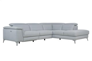 Cinque Motion Sectional Gray