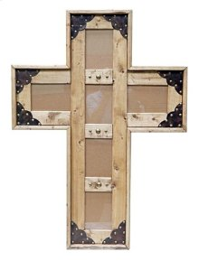 4x6 Cross Picture Frame