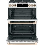 "Caf(eback) 30"" Smart Slide-In, Front-Control, Gas Double-Oven Range with Convection Photo #5"