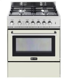 "Antique White 30"" Gas Range"