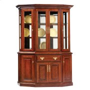 "61"" Queen Victoria Canted Hutch & Buffet Product Image"