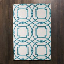 Arabesque Rug-Aqua-9' x 12'
