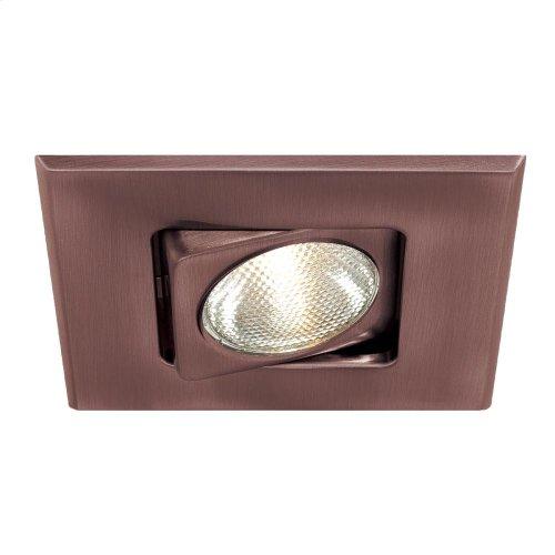 TRIM,4IN SQUARE GIMBAL - Satin Copper