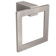 Kyvos brushed nickel towel ring