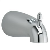 Tropic 5 1/8 Inch Slip-on Diverter Tub Spout - Polished Chrome