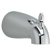 Tropic 5 1/8 Inch Slip-on Diverter Tub Spout - Polished Chrome